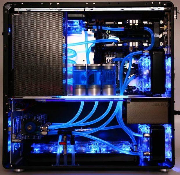 водяное Охлаждение корпуса компьютера