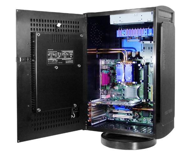пассивное Охлаждение корпуса компьютера