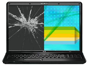 Механические повреждения ноутбука