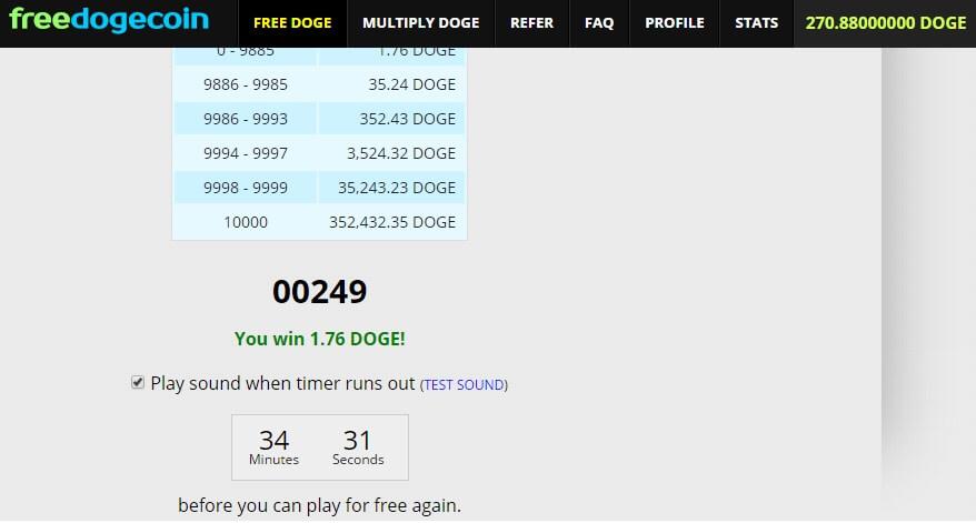 Сайт для сбора биткоинов freedoge.co.in