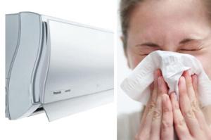 Аллергические заболевания от кондиционера