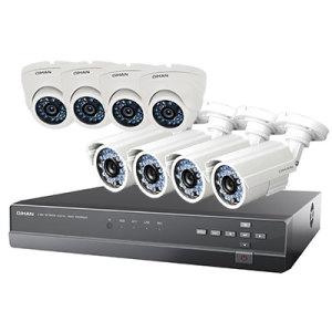 комплект видеонаблюдения Qihan QH-D3008CC-5